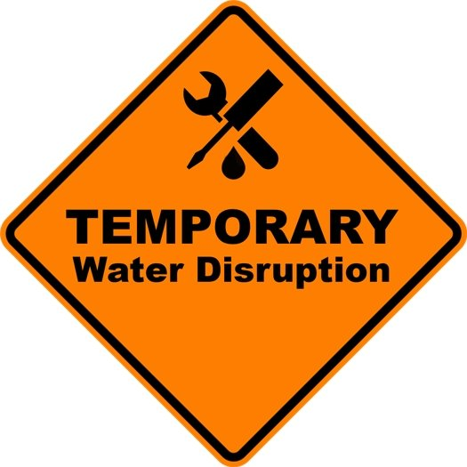 Temporary Water Disruption